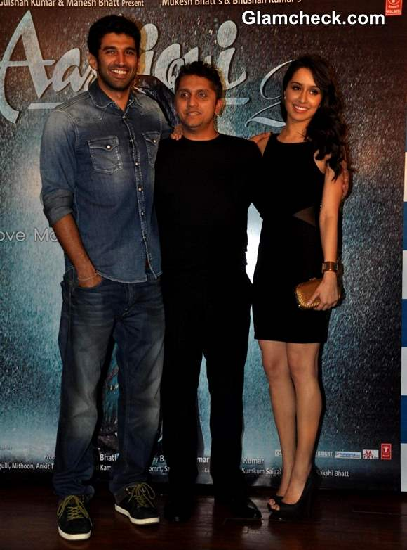 Shraddha Kapoor & Aditya Roy Kapoor at 'Aashiqui 2′ Success Party