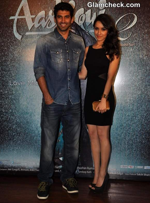 "Shraddha Kapoor Sexy in LBD at ""Aashiqui 2"" Success Party"
