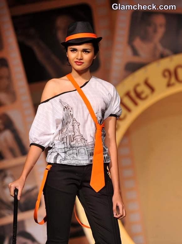 Silhouettes Bollywood Bytes Fashion Show 2013