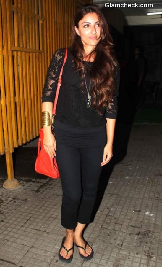 Soha Ali Khan at Go Goa Gone Special Screening