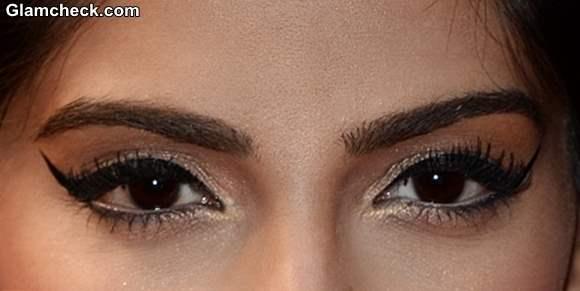 Sonam Kapoor eye makeup 2013 Cannes Film Festival Opening Ceremony