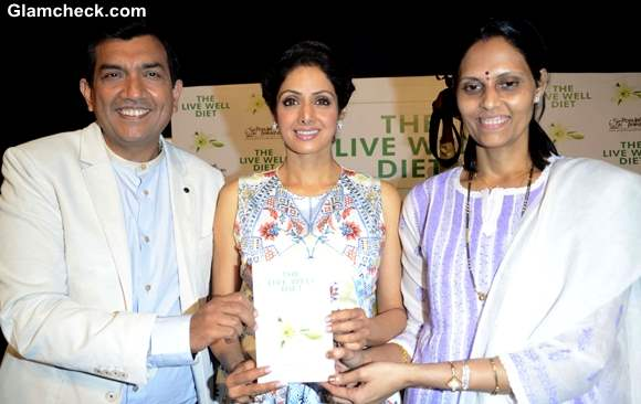 Sridevi Launches The Live Well Diet