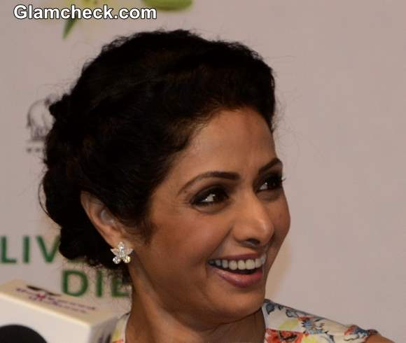 Sridevi hairstyles 2013