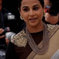 Vidya Balan Elegant Hair Makeup at Cannes Film Festival 2013