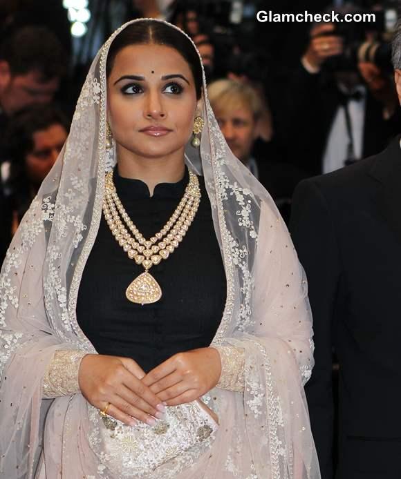 Vidya Balan in Sabyasachi Lehenga 2013 Cannes Opening Ceremony