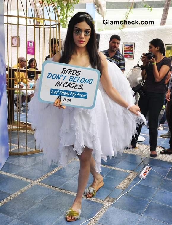 Adah Sharma PETA Bird-loving Campaign