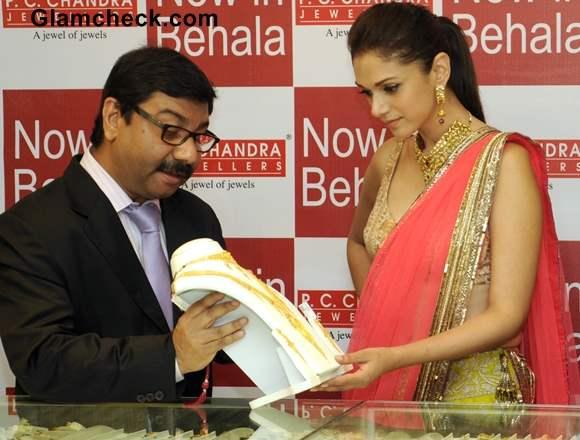 Aditi Rao Hydari 2013 Jewellery Showroom Launch