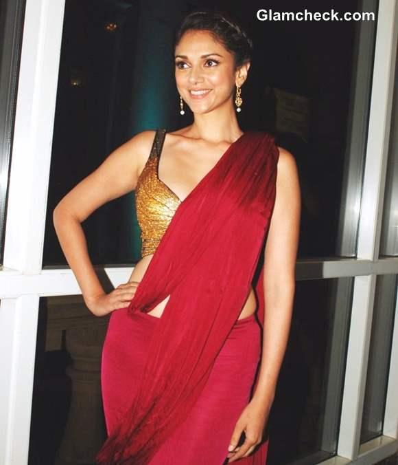 Aditi Rao Hydari in sari 2013