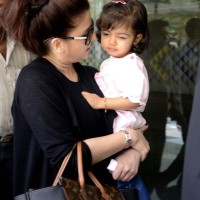 Aishwarya Rai Bachchan with daughter Aradhya 2013