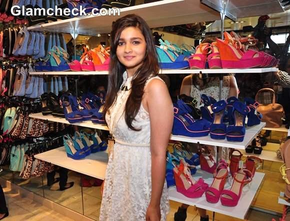 Alia Bhatt Launch Forever 21 Mumbai