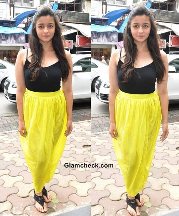 Alia Bhatt in Masaba Gupta - Hot or Not