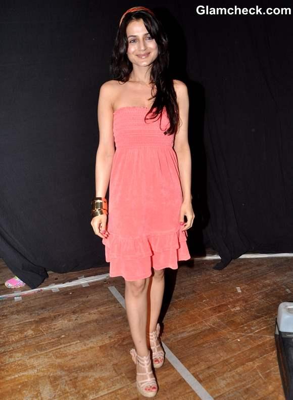 Ameesha Patel at Shortcut Romeo Promo