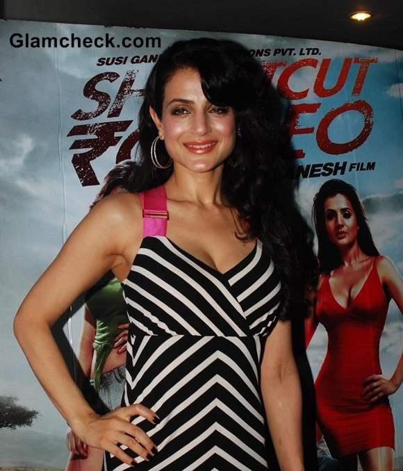 Ameesha Patel at Shortcut Romeo Screening