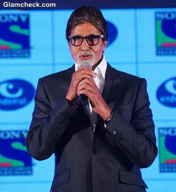 Amitabh Bachchan Launches His New TV series Fiction Show