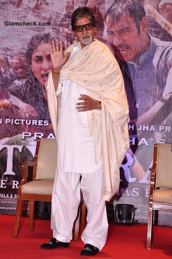 Amitabh Bachchan at Satyagraha Launch Theatrical Trailer in Mumbai