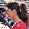 Deepika Padukone Ponytail hairstyle 2013