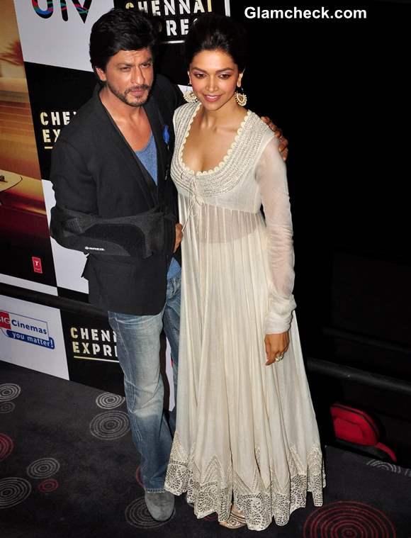 Deepika Padukone Sharukh Khan movie Chennai Express 2013