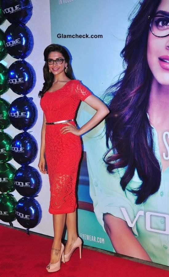 Deepika Padukone Unveils New Vogue Eyewear