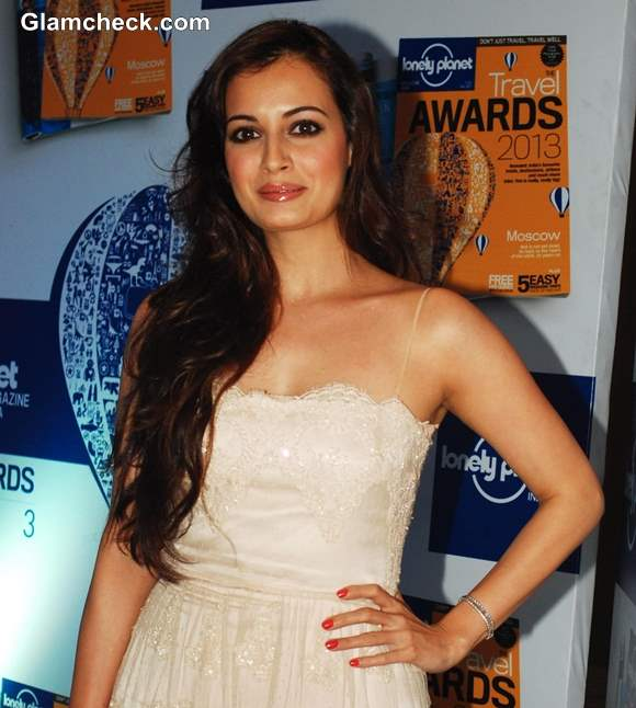 Dia Mirza Lonely Planet Awards 2013