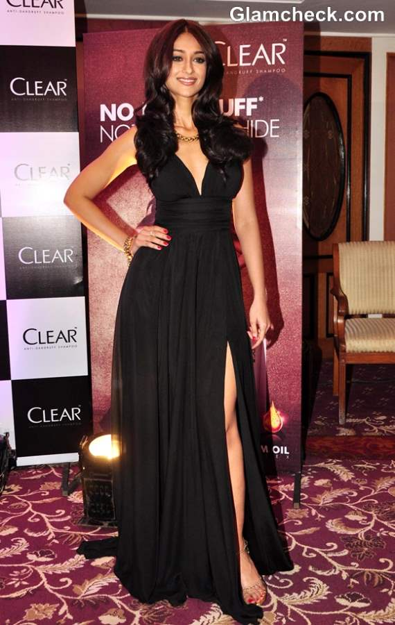 Ileana D Cruz Smashing In Black Evening Gown