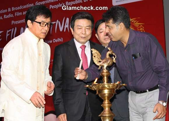 Jackie Chan Inaugurates China Film Festival 2013 in India