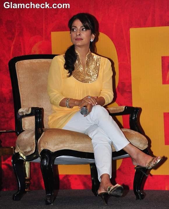 Juhi Chawla at Believe Campaign