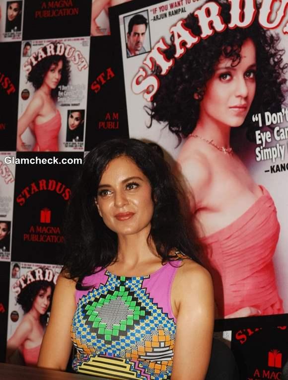 Kangana Ranaut at Stardust Cover Launch 2013