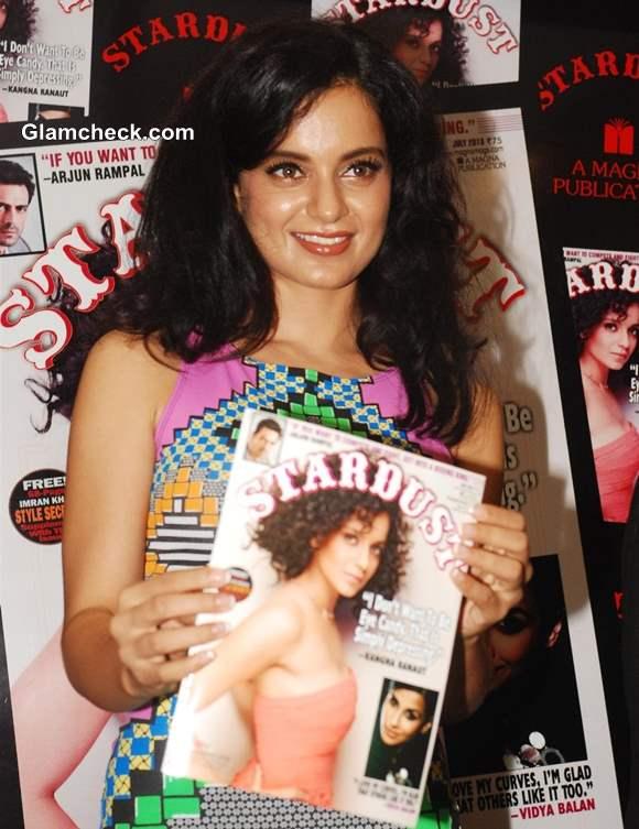 Kangana Ranaut on Stardust Cover