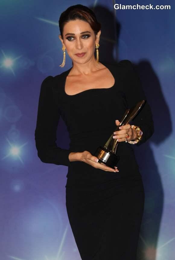 Karisma Kapoor Dolce Gabbana Dress at NDTV Property Awards