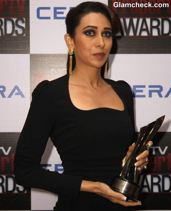 Karisma Kapoor at NDTV Property Awards 2013