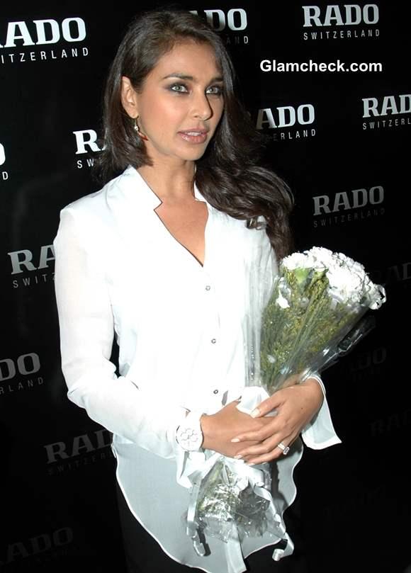 Lisa Ray Inaugurates Rado Showroom in Kolkatta