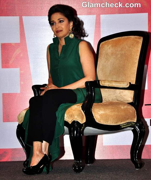 Madhuri Dixit 2013 at Believe Campaign Launch