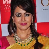 Mahima Chaudhry 2013 Jeweller India Awards
