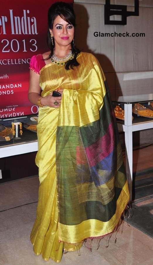 Mahima Chaudhry at Jeweller India Awards 2013