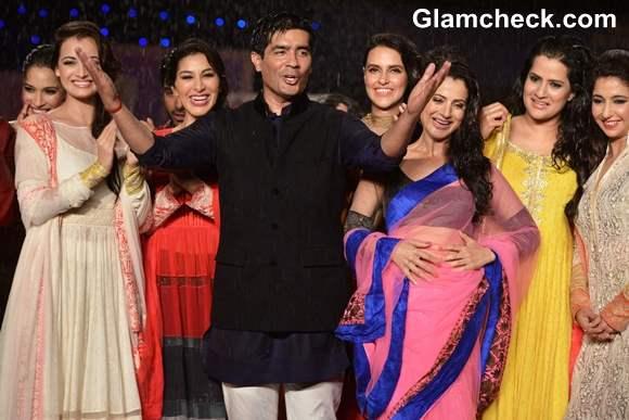 Manish Malhotra  Shaina NC at 8th Annual Caring at a Style Fashion Show