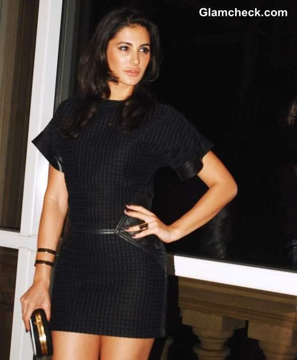 Nargis Fakhri Sports Little Black Dress To Lonely Planet Travel