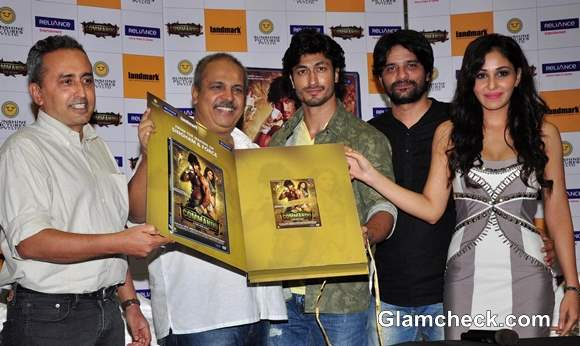 Pooja Chopra Vidyut Jamwal Launch Commando DVD