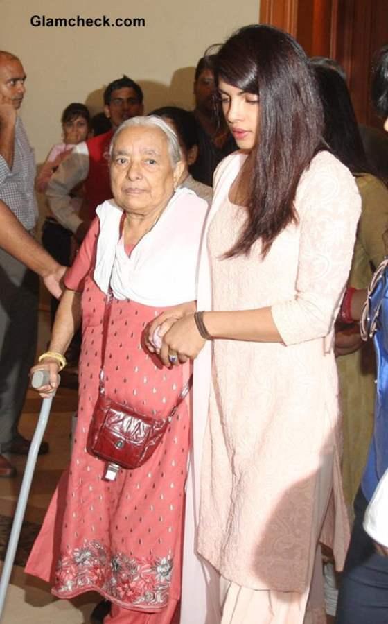 Priyanka Chopra at Father's Condolence Meet