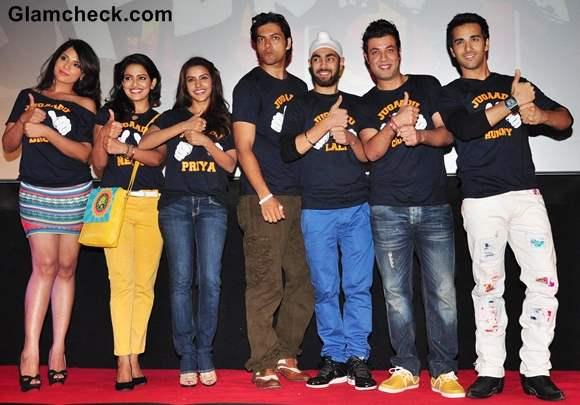 Richa Chhadha at Fukrey Song Launch