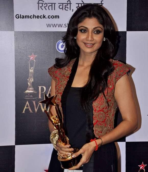 Shilpa Shetty Star Parivaar Awards 2013
