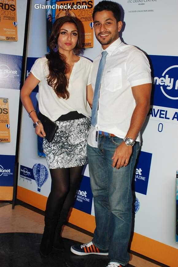Soha Ali Khan with boyfriend Kunal Khemu