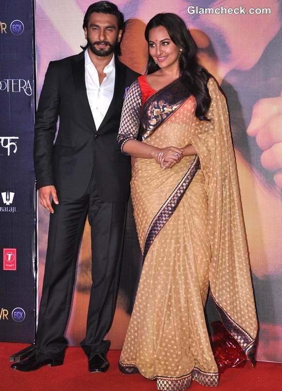 Sonakshi Sinha in Sari at Lootera Music Launch
