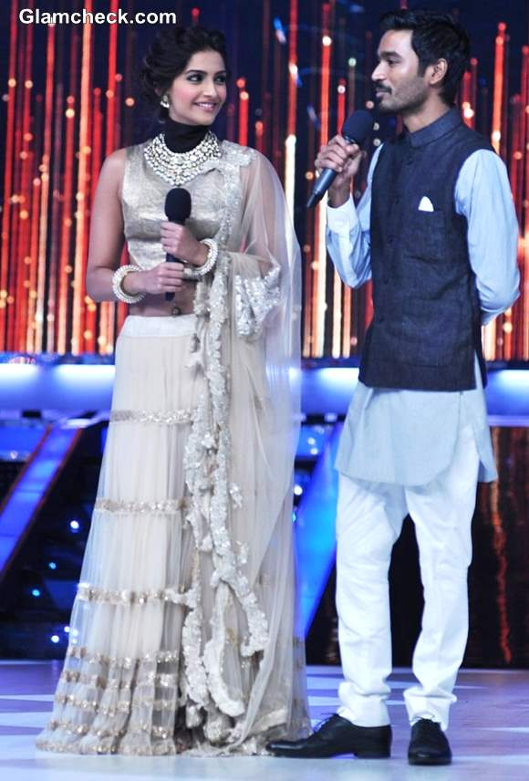 Sonam Kapoor Dhanush Jhalak Dikhlaa Jaa