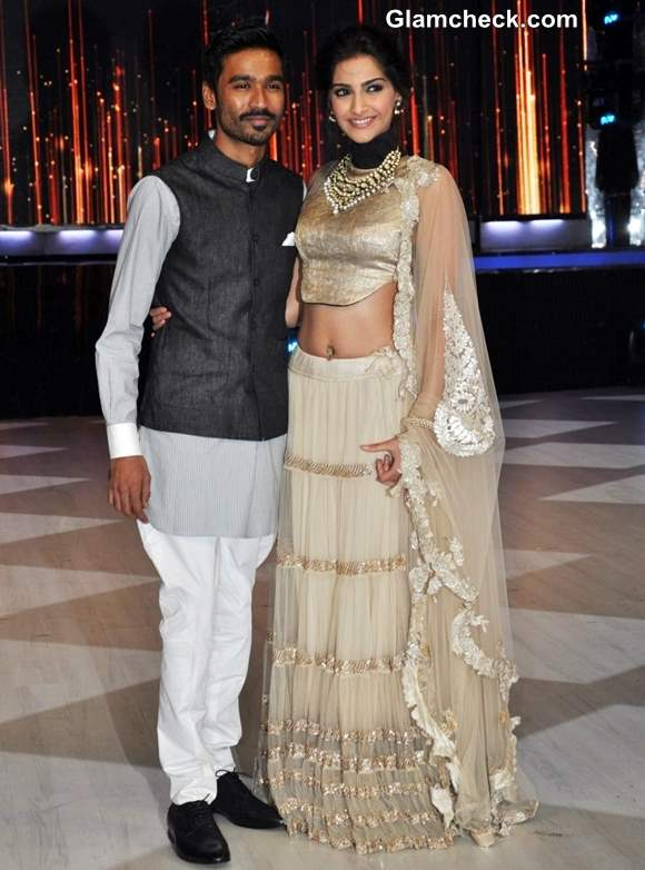 Sonam Kapoor and Dhaush