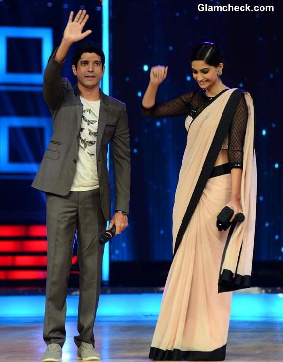 Sonam Kapoor and Farhan Akhtar 2013