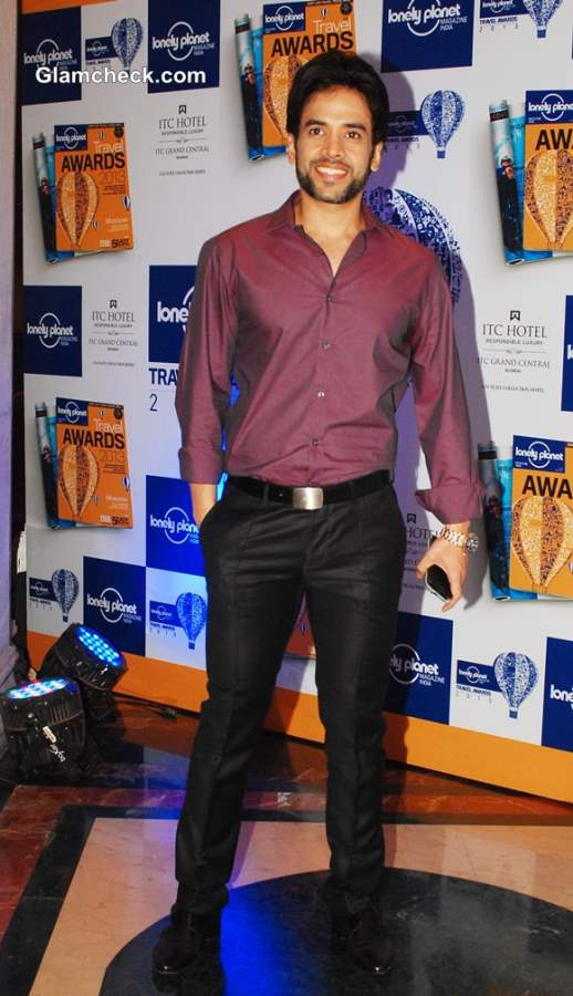 Tusshar Kapoor at Lonely Planet Awards 2013
