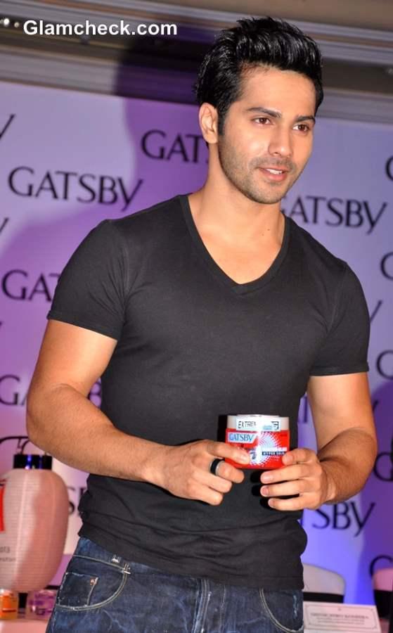 Varun Dhawan New Face of GATSBY