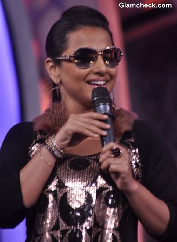 Vidya Balan 2013 on Dance India Dance Super Moms