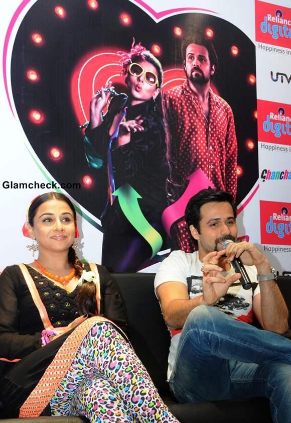 Vidya Balan Emraan Hashmi Promote Ghanchakkar