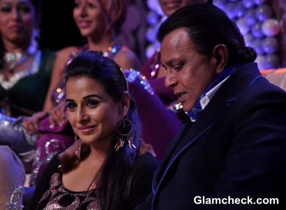 Vidya Balan Promotes Ghanchakkar on Dance India Dance Super Moms